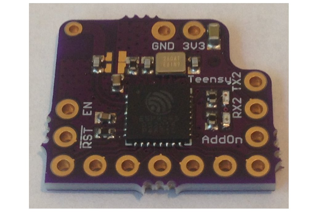 ESP8285 Add-on for Teensy 3.2 2