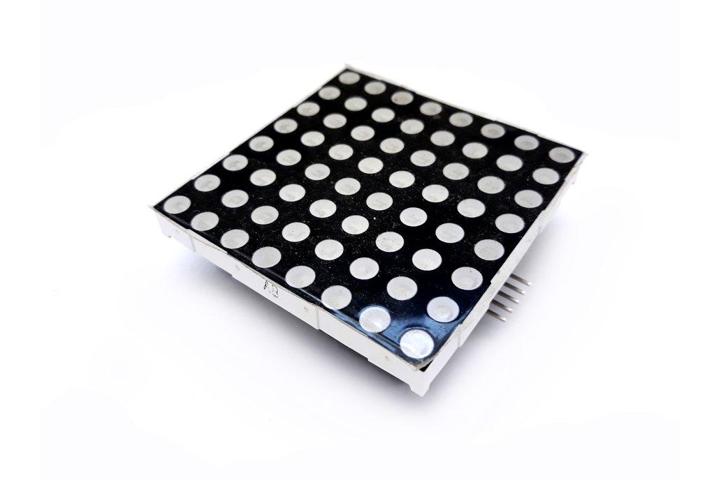60x60mm Single Color 8x8 LED Matrix Driver DIY Kit 1