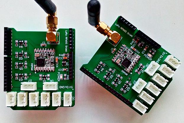 RFM95 LoRa Arduino Shield 868-915Mhz