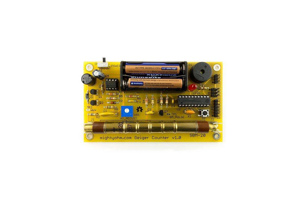 MightyOhm Geiger Counter Kit 2