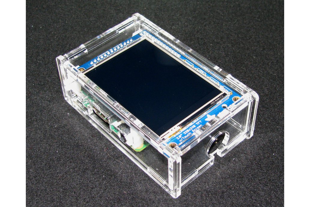 "Raspberry Pi A+/B+ 2.8"" PiTFT Case 3"