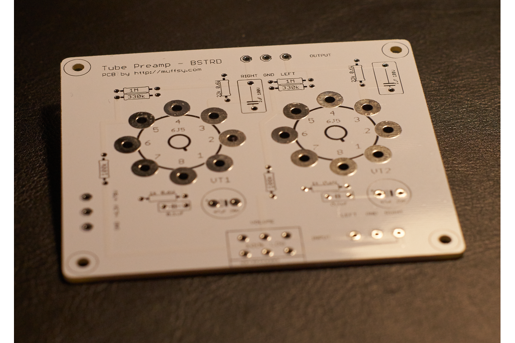 The Muffsy BSTRD - Class A Tube Preamp PCBs 3