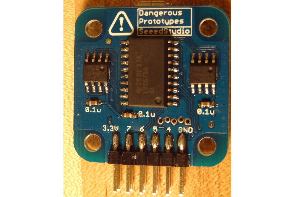 Logic Pirate (Dangerous Prototypes) - PCB Only 3