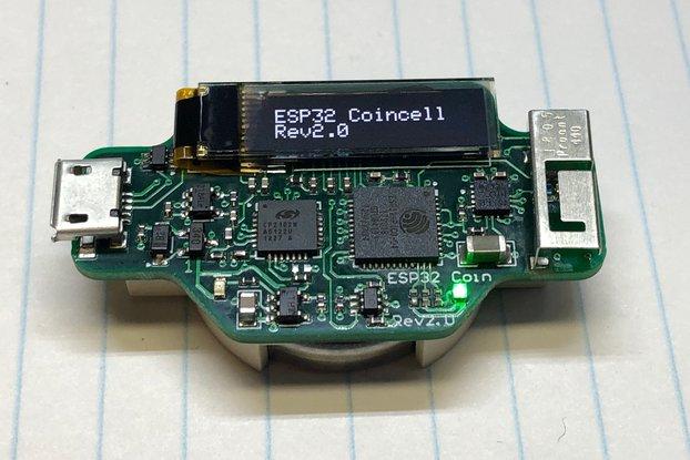 ESP32 CoinCell Rev2.0