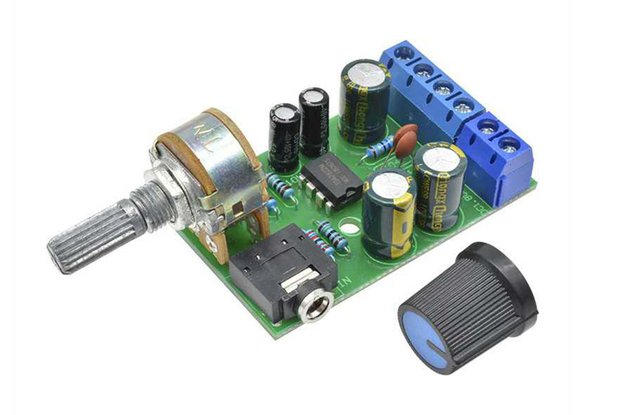 TDA2822M 2.0 Audio Amplifier Sound Board