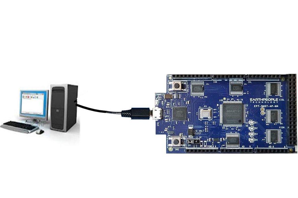 Intel/Altera 5M570 CPLD Development Kit - MegaMax 8