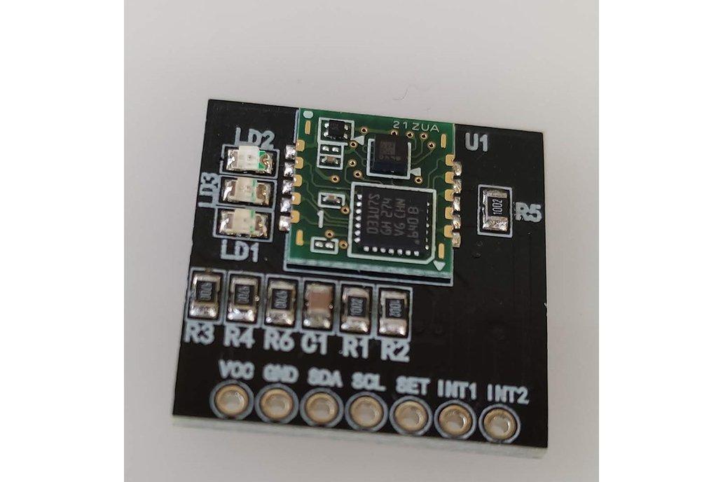 Earthquake sensor 1