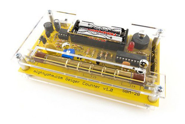MightyOhm Geiger Counter Kit