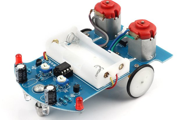 D2-5 Smart Tracking Robot Car(10168)