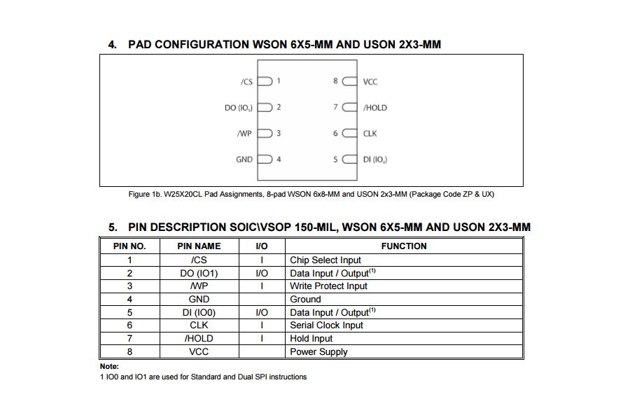 SPI Serial Flash Memory (2Mbits) Breakout Module