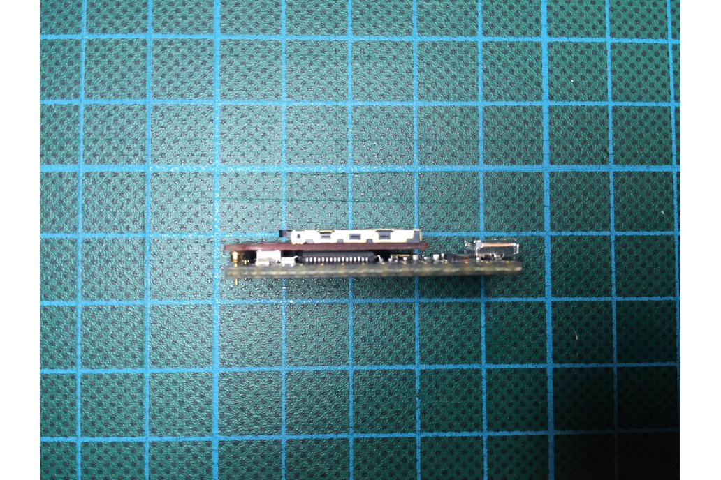 Teensy 3.x/LC slim micro SD card adapter 4