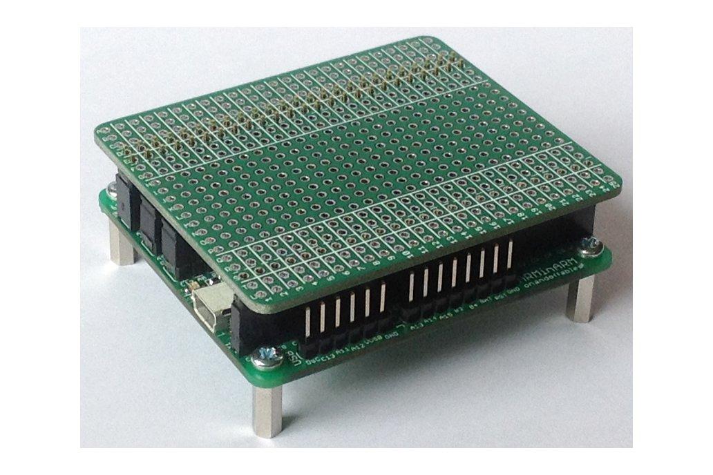 ARMinARM + AVRPi-32U4 Protocap Narrow 2
