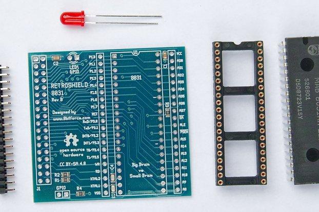 RetroShield 8031 for Arduino Mega