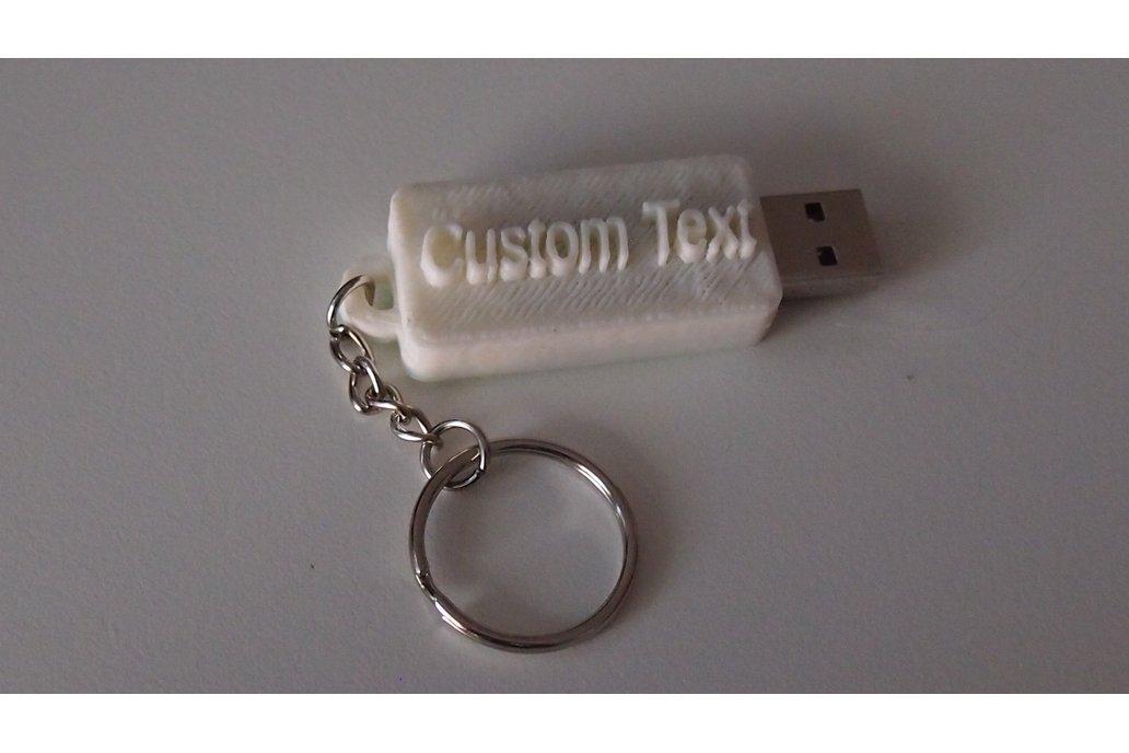3d Printed Custom Engraved Flash Drive 7