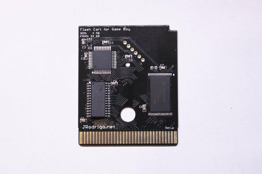 Flash Cartridge ROM 4MB @ FRAM 32KB for GameBoy 1