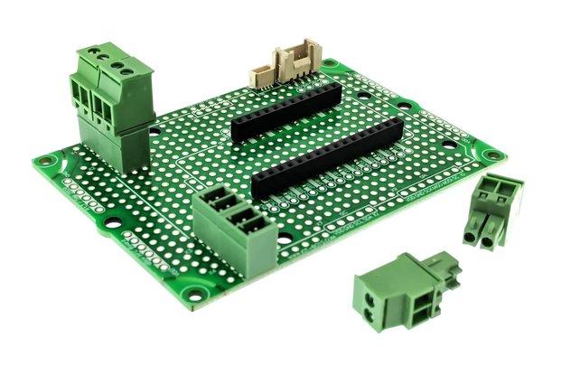 qGround DIY Adafruit Feather Compatible PCB Kit