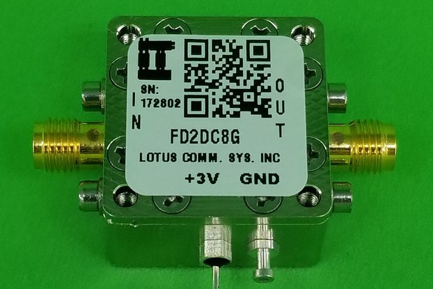 Frequency Divider (Divide by 2) 100 MHz ~ 8 GHz