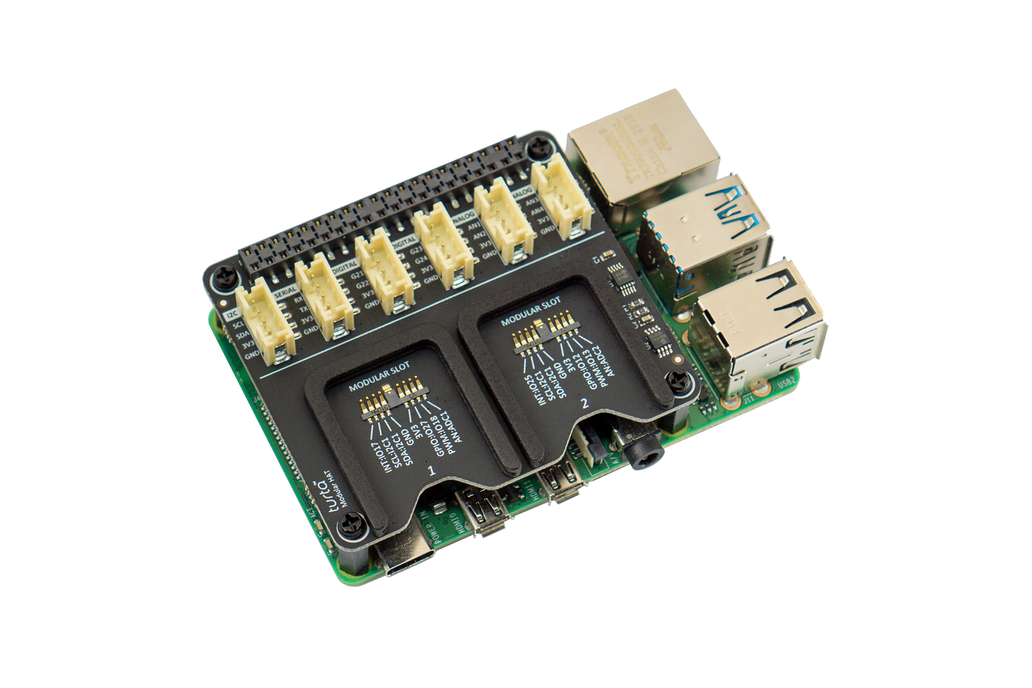 Modular HAT for Raspberry Pi 1