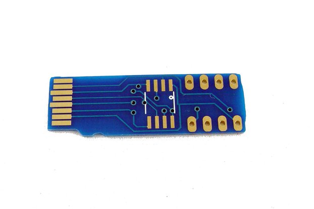 micro SD card to SPI flash adapter