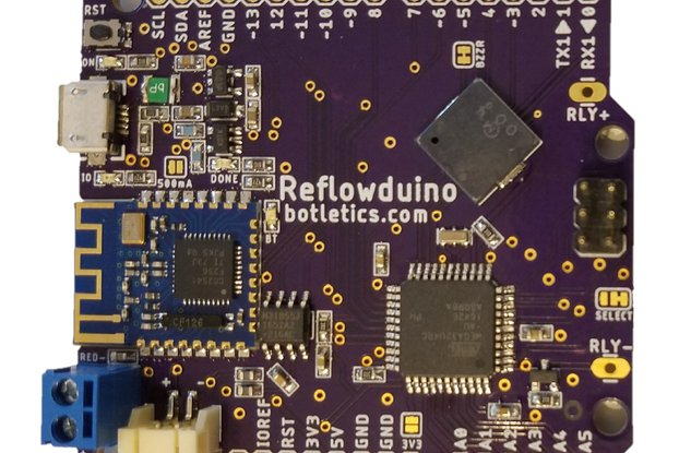 Reflowduino - Ultimate Bluetooth Reflow Controller