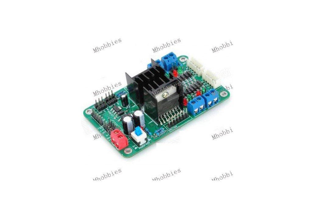 4CH DC Motor Driver control 4CH Servo Motor Controller 2CH Step motor Controller 1