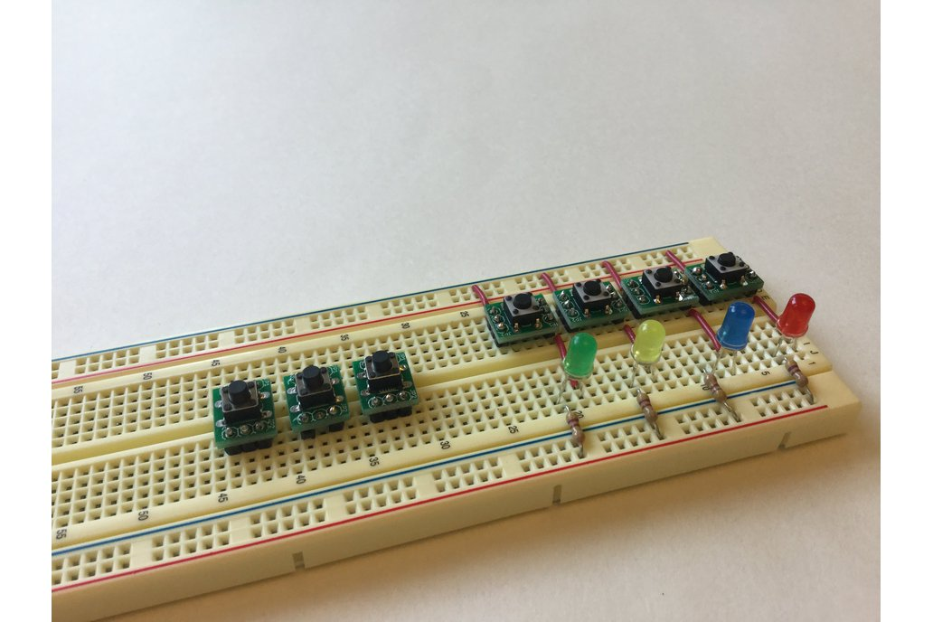 Breadboard Tactile Switches x 5 1