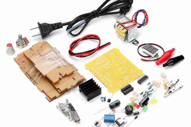 Geekcreit® US Plug 110V DIY LM317 Adjustable