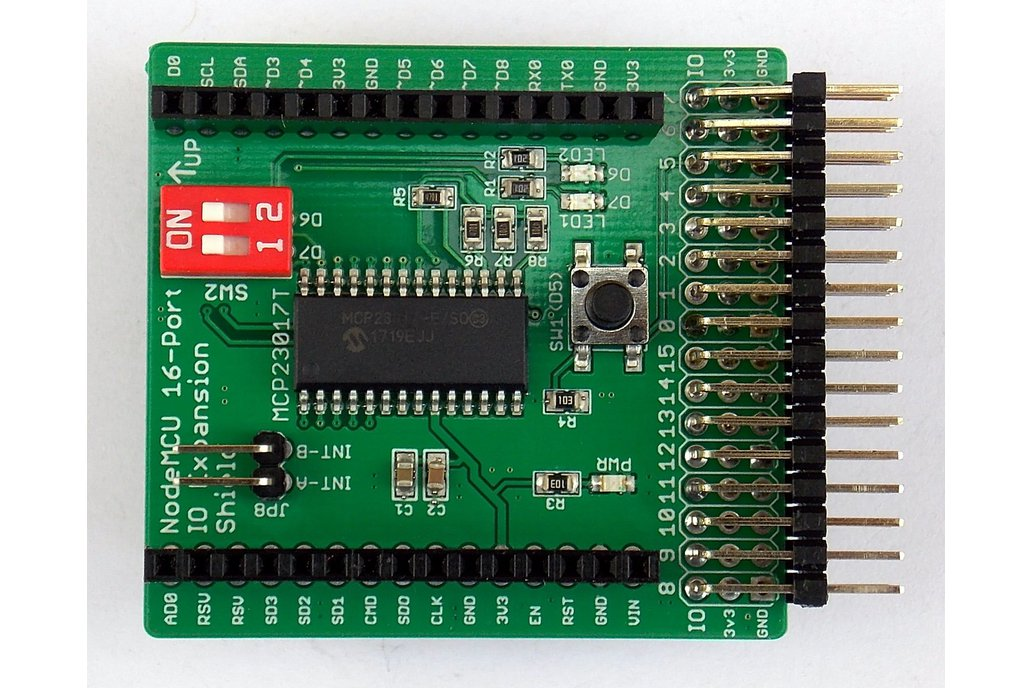 16-Port IO Expansion Shield for Wireless Dev Board 1