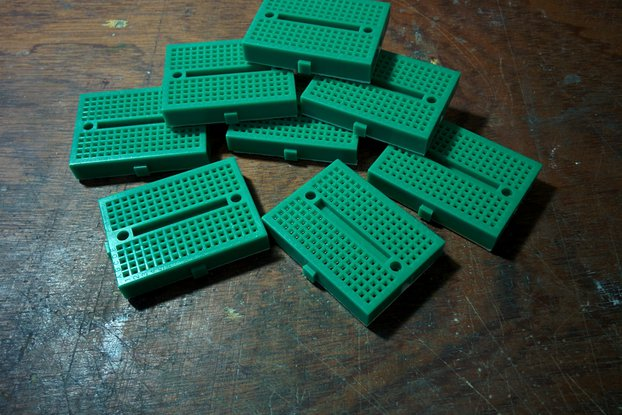 lot 8 mini green 170p breadboard - overstock