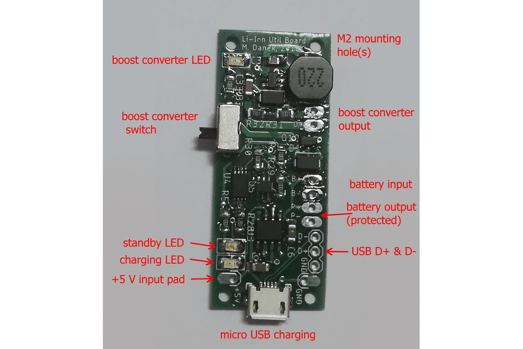 Lithium Battery Utility Board 3