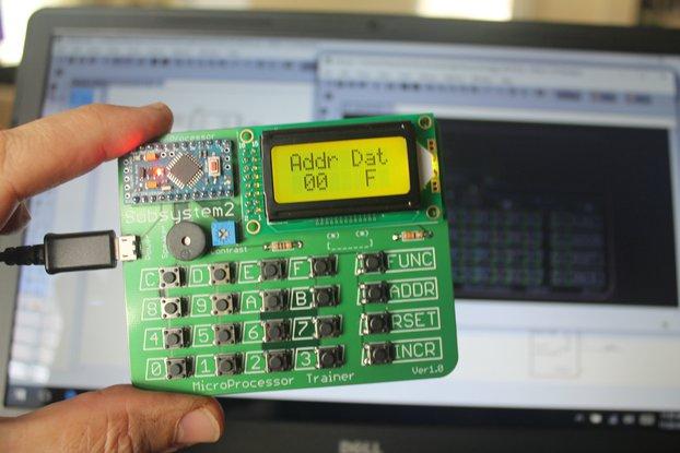 4-bit Microprocessor Trainer