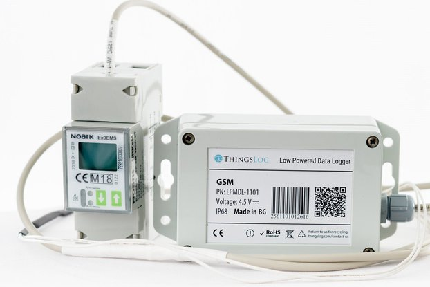 2G smart power metering set
