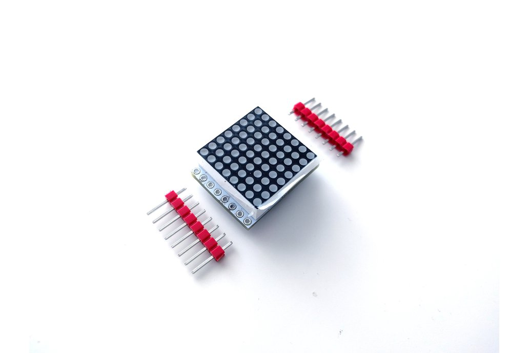 8x8 LED Matrix Shield for D1 Mini 1