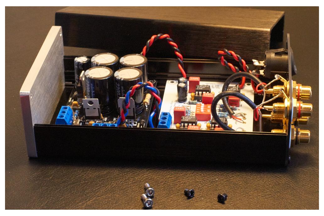Muffsy MC Head Amp - Kit 2