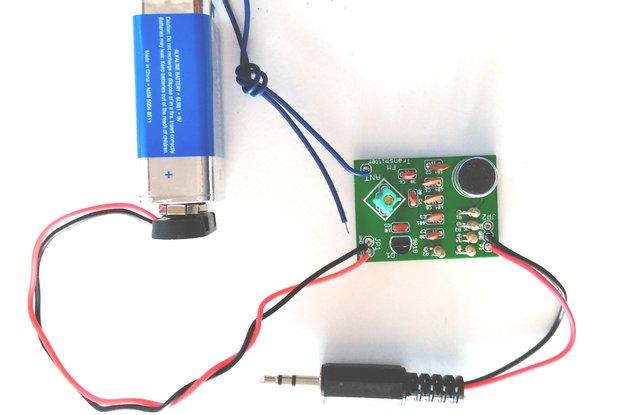 FM Transmitter DIY learning kit