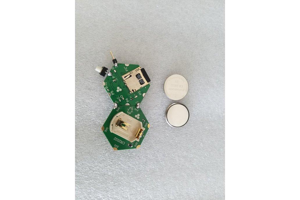 CR2032 Coin-cell Battery Holder Module 7