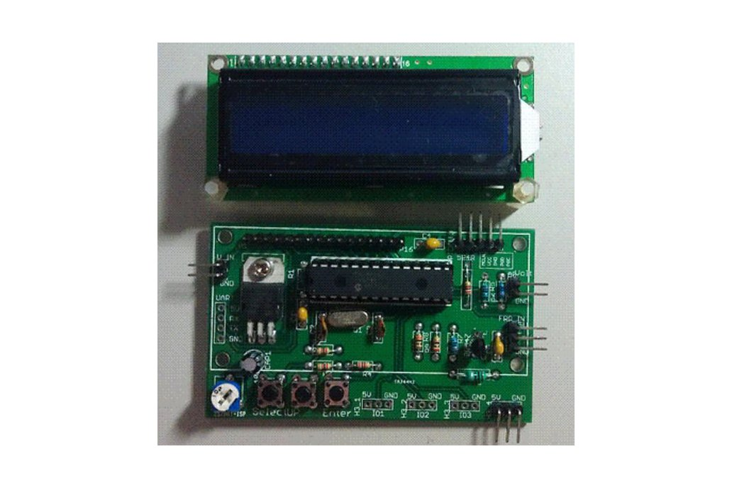 50MHz LCD Frequency Counter Module with IF Offset  1