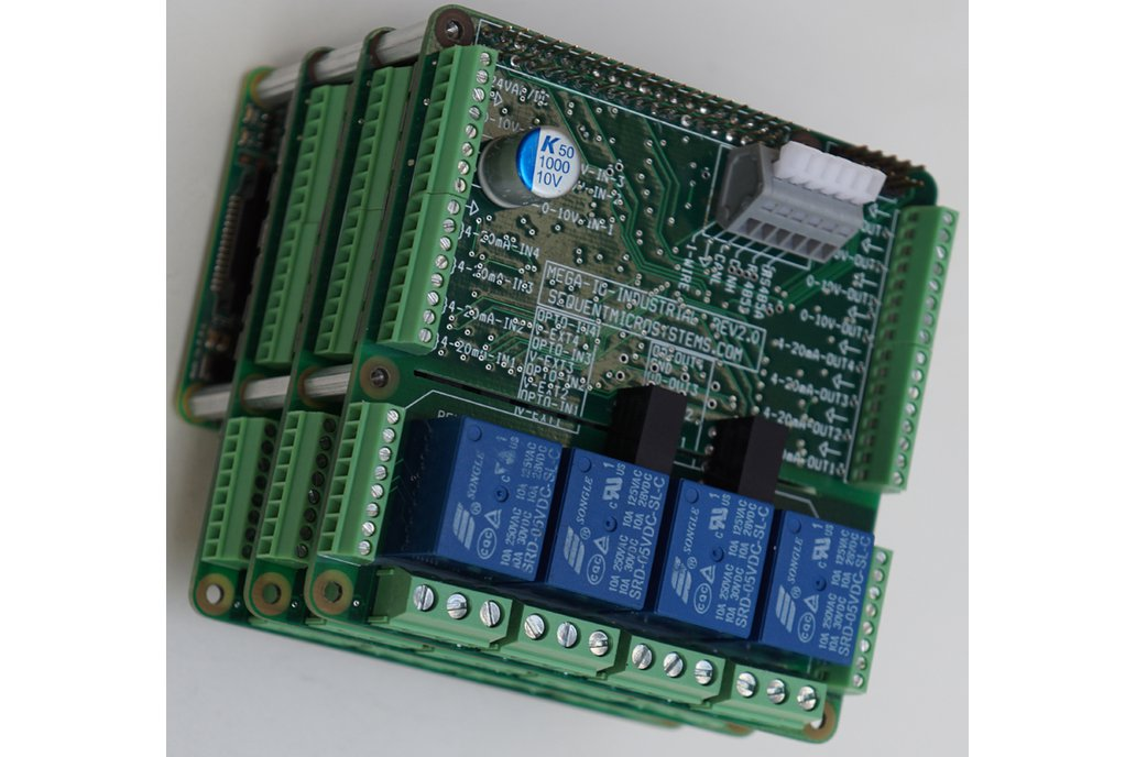 Industrial Automation IO Card for Raspberry Pi