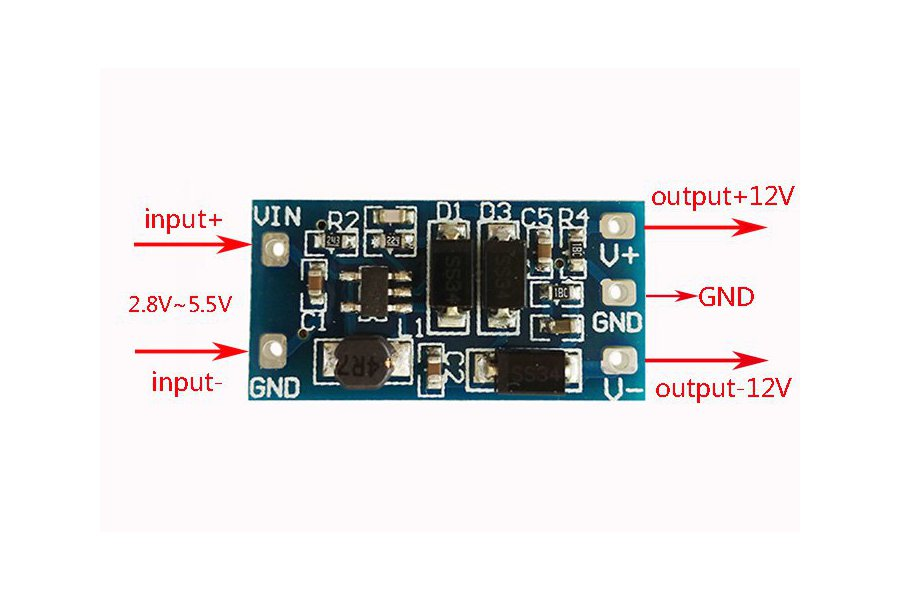 DC Voltage Converter Board 2.8V-5.5V(10526)