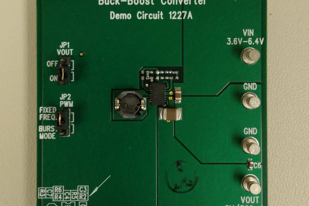 Linear Tech Eval board DC1227A for the LT LTC3534