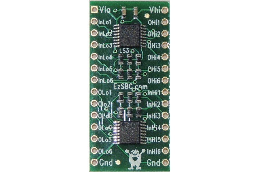 12V Level Shifter and Buffer 2x6 Channel