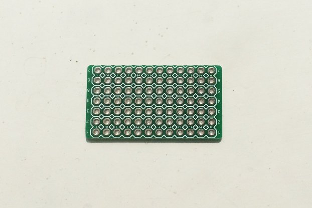 One Tiny Double Side Thru-Hole Prototype PCB Board