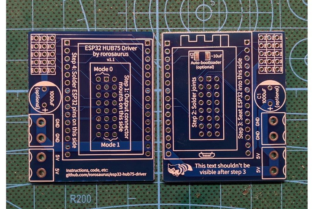 ESP32 HUB75 LED Matrix Driver (Kit) 1