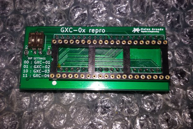 'GXC-0x' replacement *TMS32010 MCU NOT INCLUDED*