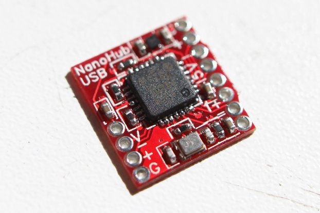 NanoHub - tiny USB hub for hacking projects