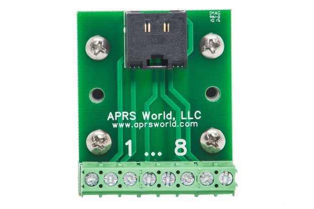 RJ-45 breakout board to screw terminals