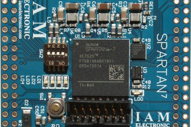 Xilinx Spartan-7 FPGA Board