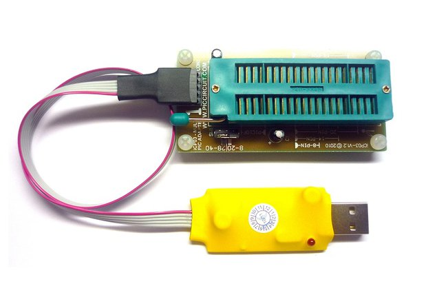 iCA01 - USB Microchip PIC Programmer Set