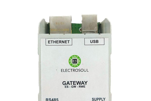 ESP32 RS485 Ethernet Modbus Gateway (ABS)