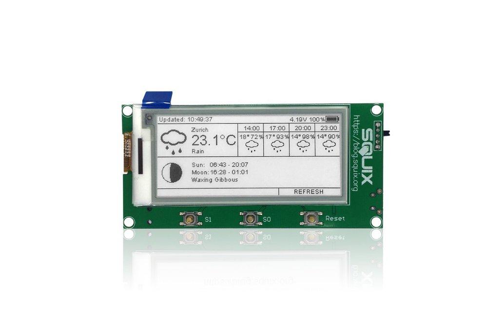"""ESP8266 - 2.9"""" ESPaper Lite Module, WiFi ePaper 1"""